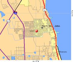 port st fl map 32927 zip code port st florida profile homes