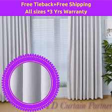 Curtains That Block Out Light Blockout Light Grey Gray Design Fabric Drapes Eyelet Bedroom