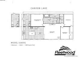 2017 fleetwood homes canyon lake 32603g mobile 9c pitts homes
