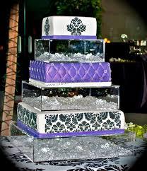 purple custom unique modern and traditional wedding cake designs