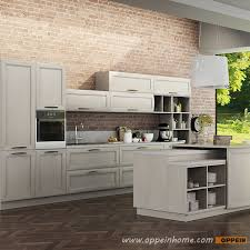 Wooden Kitchen Cabinet Op14 106 Transitional Natural Ash Solid Wood Kitchen Cabinet