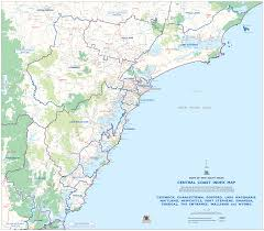 coast map central coast map mapsof