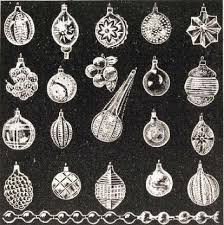 set of 20 vintage glass tree ornaments 1906 a canadian
