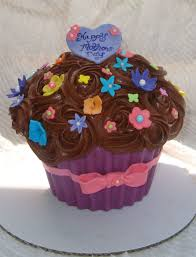 giant mothers day cupcake cakecentral com