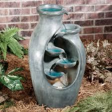 quiet splendor lighted indoor outdoor water fountain water