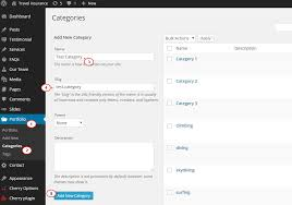 wordpress how to assign a portfolio category to a certain