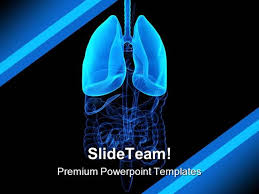 human lung science powerpoint templates and powerpoint backgrounds