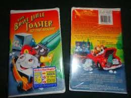 The Brave Little Toaster To The Rescue The Brave Little Toaster Goes To Mars Vhs 1998 Clam Shell