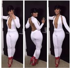 all white womens jumpsuit jumpsuit cut out white bodycon bodysuit bandage