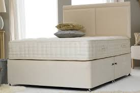 Divan Bed Frames Contract Cotton 6ft King Size Divan Bed Base Only