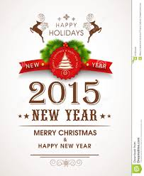 poster design for happy new year and celebrations stock