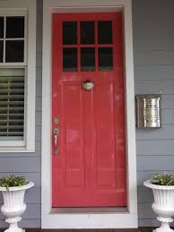 the secret to getting a shiny painted door the washington post