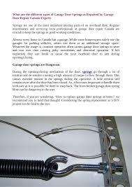 Parts Of Garage Door by Garage Door Opener Remote Cable Spring Maintenance Installation U2026
