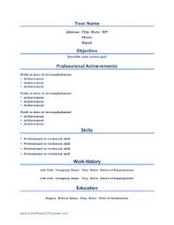 resume templates free printable resume templates free printable resume template