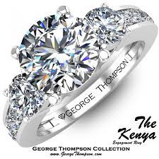 wedding rings in kenya the kenya three diamond engagement rings engagement rings