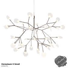 heracleum 2 small u0026 moooi heracleum ii small modern chandelier