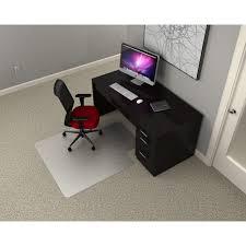 office bamboo roll up chair mat without lip mat hard