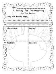 turkeys on strike literacy activity for thanksgiving 2nd grade