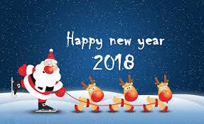 newyear card new year card 2018 happy new year card
