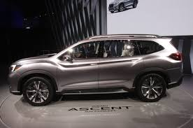 subaru forester concept updated subaru shows off ascent three row suv concept