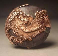 electroforming copper jasper and copper pendant 21st century jasper and 21st