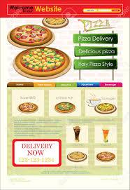 restaurants menu templates free template of website or flyer restaurant menu royalty free template of website or flyer restaurant menu stock vector 15543449