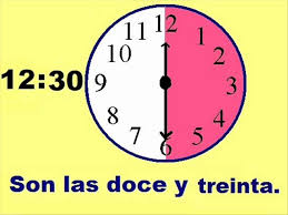 telling time in spanish lessons tes teach