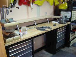 Rolling Work Benches Workspace Craftsman Workbench With Drawers For Your Shop Or