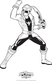 coloring pages power ranger coloring pages heroes