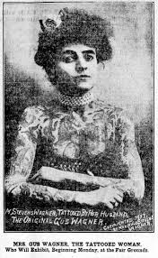 meet the tattooed lady 1909 click americana