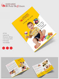 two fold brochure template psd environment a4 bi fold brochure template aradio tk