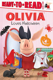 amazon com olivia loves halloween olivia tv tie in