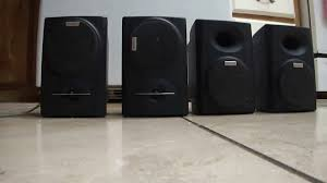 kenwood nice small speakers ks 305ht youtube