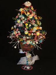 hello themed miniature lighted tree small lighted