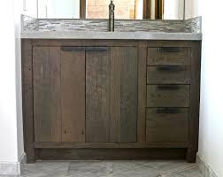 bathrooms design distressed wood bathroom vanity reclaimed
