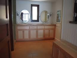 bathroom cabinets build in vertical grain fir and birds eye maple