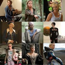 nine looks charlize theron the devils advocate monster the life