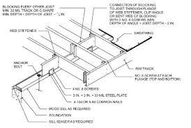 Residential Steel Beam Span Table by Lawriter Oac 4101 8 5 01 Floors