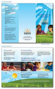 free indesign templates daycare preschool and health