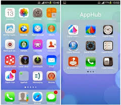 iphone 6 launcher for android make your android look like iphone ios7