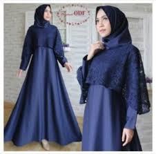 model baju muslim modern 10 model baju gamis pesta mewah