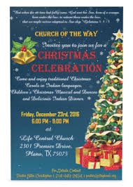 Christmas Carols Invitation Cards Church Of The Way Plano Photos