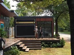 Backyard Tiny House Fayetteville Home Featured On Tiny House Nation Only In Arkansas