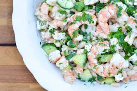 Summer Lunch Ideas For Entertaining Cucumber Shrimp Salad Recipe The Chronicles Of Home