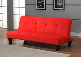 Klik Klak Sofas Amazon Com Red Microfiber With Adjustable Back Klik Klak Sofa