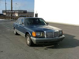 1985 mercedes benz 380se 300 serie foto 1 luxusbenz