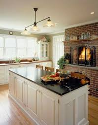 kitchen fireplace ideas best 25 kitchen fireplaces ideas on fireplace in