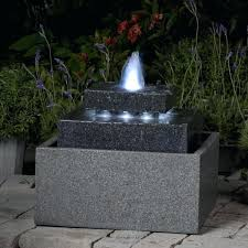 water fountain with lights outdoor water fountains nice outdoor fountains with lights square