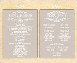 reception program template 10 school event program template sletemplatess