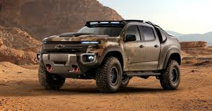 tactical vehicles for civilians chevy u0027s making a hydrogen powered pickup for the us army wired